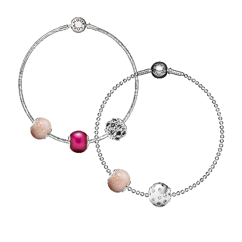 Charm Bracelet design by Pandora Jewelry.