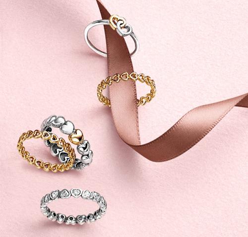 Valentine's Day Women's Rings.