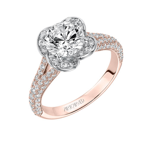 Ben David Jewelers Engagement ring choice to propose marriage.