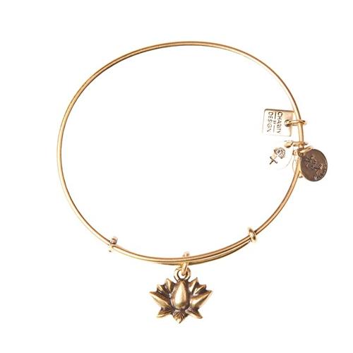 Lotus Blossom Charm designed by Alex and Ani Bracelets.