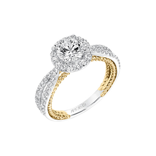 ArtCarved has many beautiful engagement ring choices