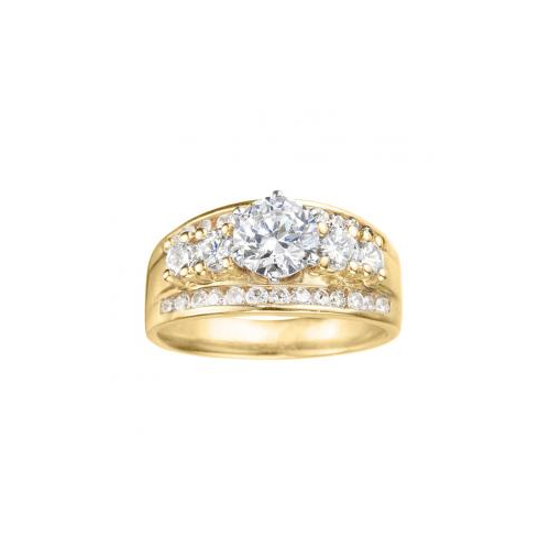 Ben David Jewelers offers yellow gold engagement rings.
