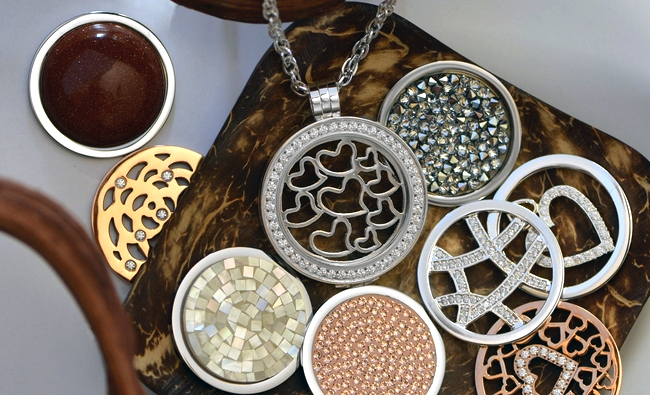 Your Maid of Honor will look fabulous in Carlo Biagi Coins