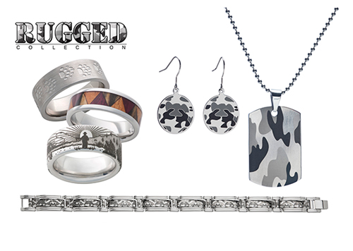 Jewelry Innovations designs men's rings in camo that appeal to the hunter.
