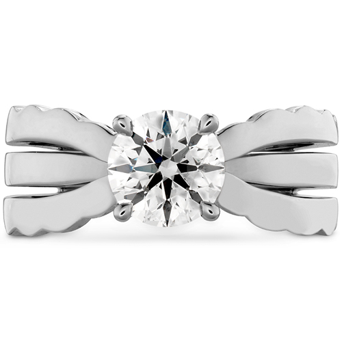 Ben David Jewelers sells previously owned engagement rings like this one.