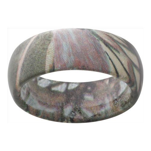 Colorful Camo wedding rings from Ben David Jewelers