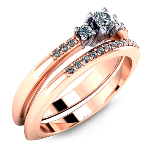 Malo designed FDR-200-10 wedding and engagement rings.