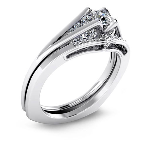 Malo Bands designs bezel engagement rings.