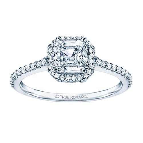 True Romance engagement ring at Ben David Jewelers