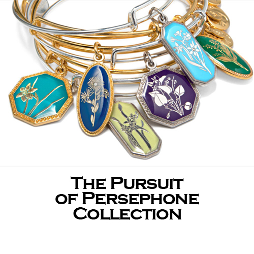 Alex and Ani Pursuit of Persephone Bangles Bracelets.