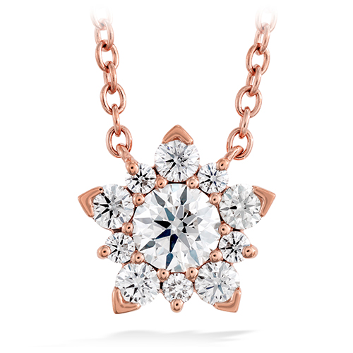 Necklaces by Hearts on Fire usually include many diamonds.