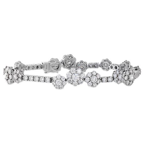 Diamond Tennis Bracelet in White Gold