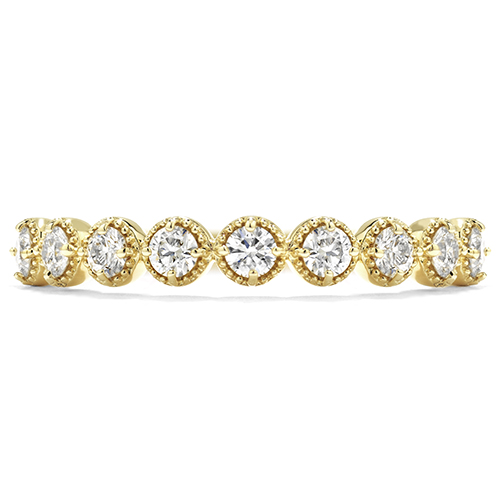 Wedding rings women must have are made by Hearts on Fire.