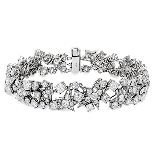 Hearts on Fire diamond bracelets are sold at Ben David Jewelers