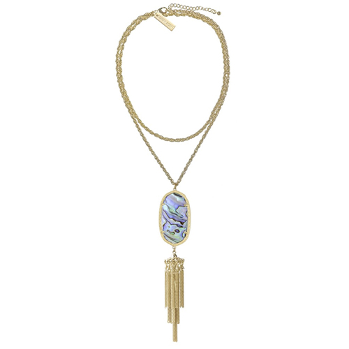 Kendra Scott offers many beautiful necklaces.