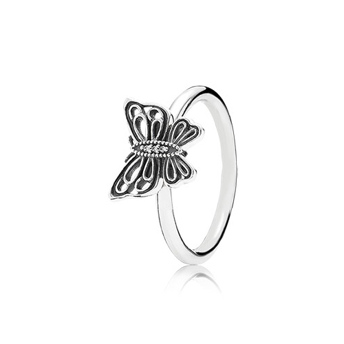 Pandora's rings are in sterling silver and various types of gold.