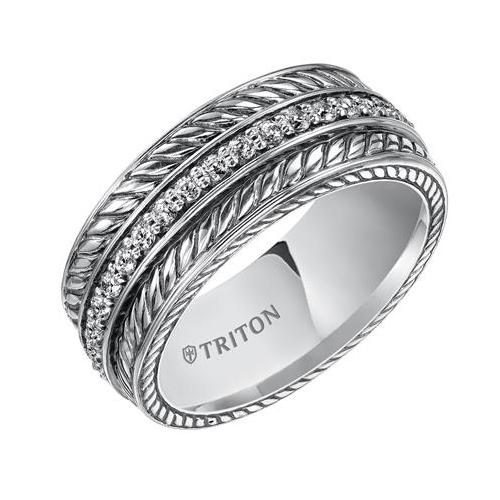 Unique Wedding Bands designed by Triton.