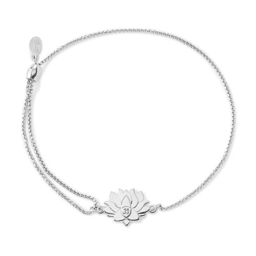 Sterling Silver Lotus Peace Petals Bracelet