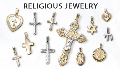 Religious pendants for children.