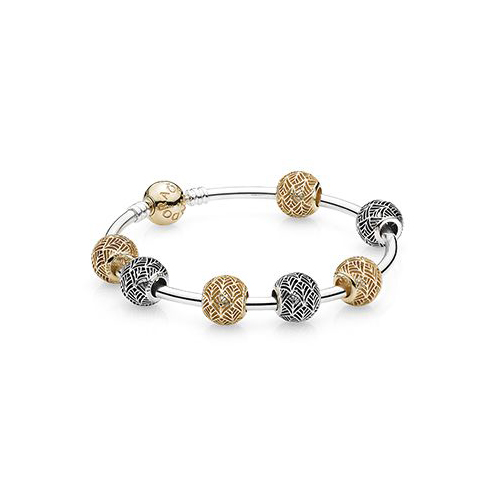 Pandora is a very popular brand of charm bracelets.