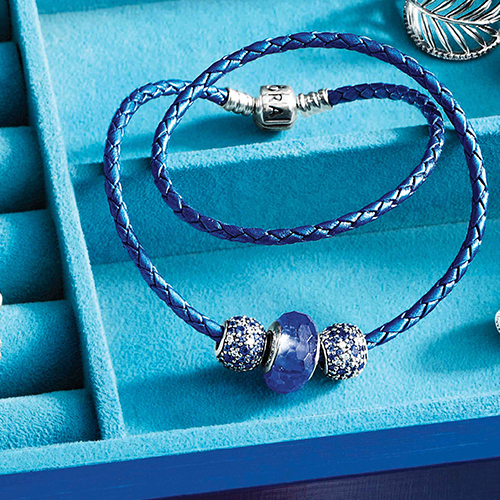 Pandora Leather Bracelet is free with $100 purchase in June.