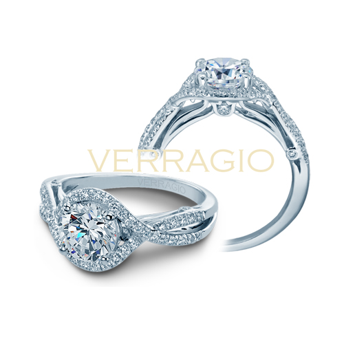 Diamond engagement ring from the Couture Collection.