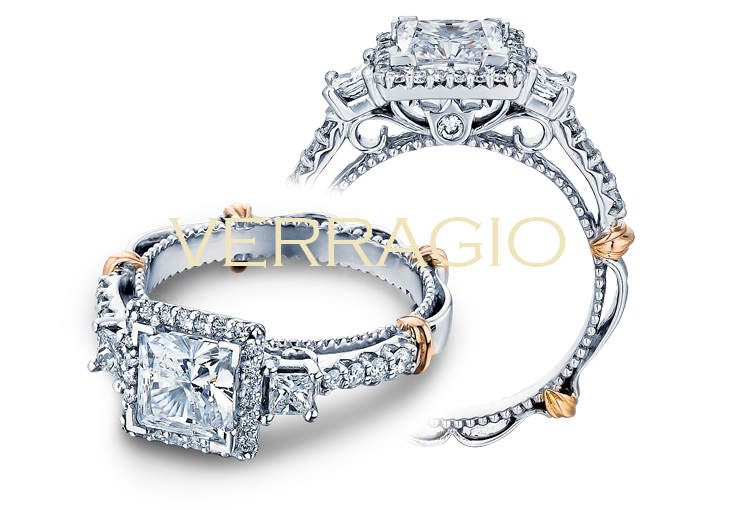 Gorgeous engagement rings designed by Verragio.