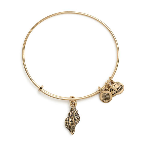 Receive $5 off Alex and Ani Conch Bangle.