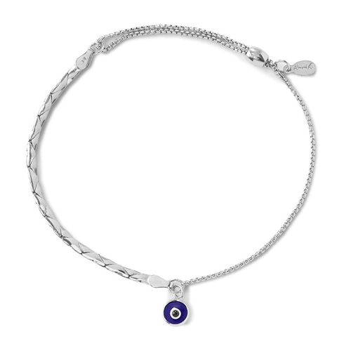 Alex and Ani designed this chain bracelet.