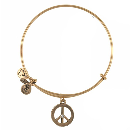 Peace bracelet is available through Ben David Jewelers.