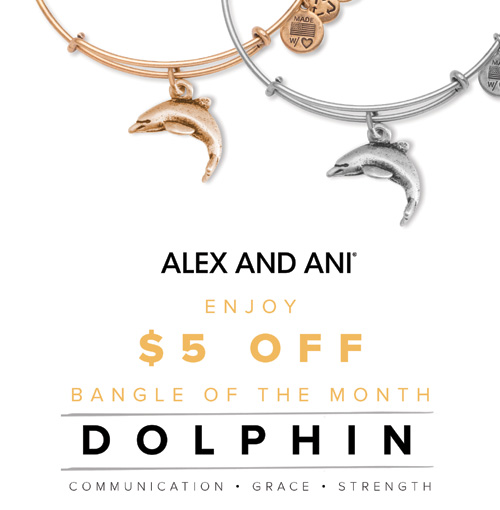 Alex and Ani specials for July on their bangle bracelets.