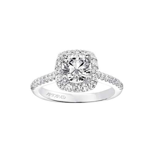 ArtCarved is a designer brand of engagement rings.