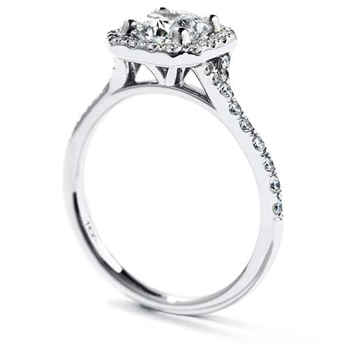 Transcend named engagement ring at Ben David Jewelers.
