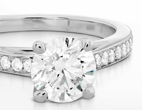 Engagement rings are best bought at Ben David Jewelers because of their quality collections.