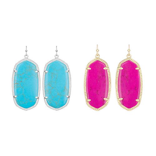 Ellen Drop Earrings designed by Kendra Scott.
