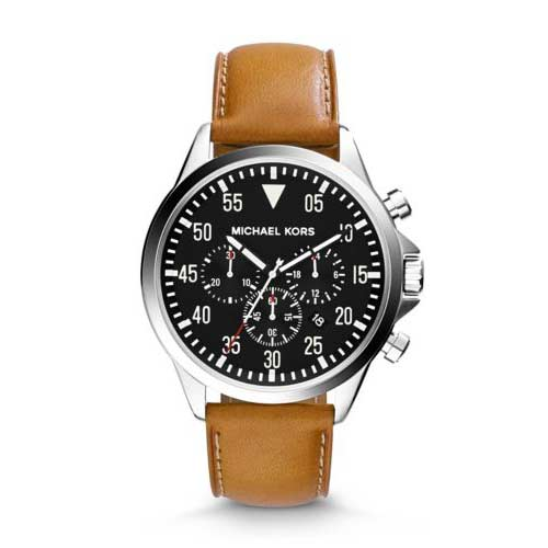 Man's watch designed by Michael Kors.