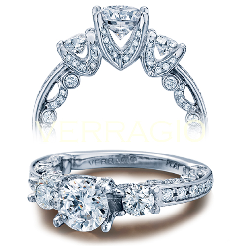 Verragio is a very popular designer engagement ring brand.
