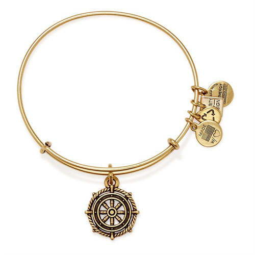 Take the Wheel Bangle by Alex and Ani
