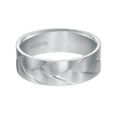 ArtCarved has many wedding band choices for men.