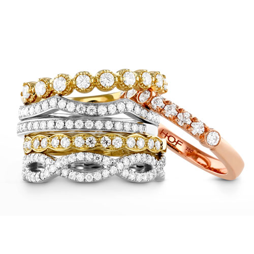 Hearts on Fire makes a variety of gold colored rings.
