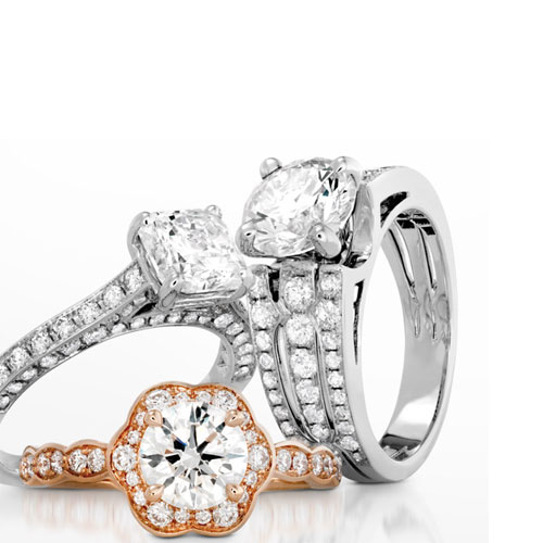 How to choose an engagement ring from all those choices.