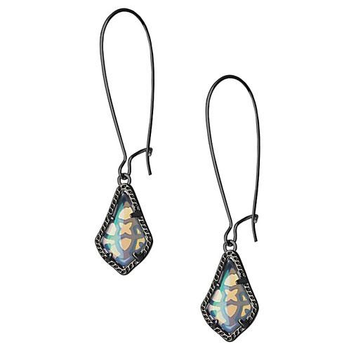 Earrings designed by Kendra Scott.