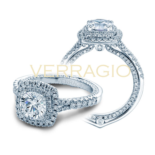 Diamond Engagement ring designed by Verragio