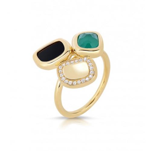 Black Jade Ring by Roberto Coin