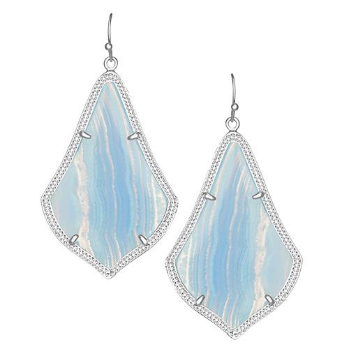Beautiful blue earrings.