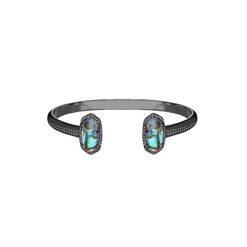 The Elton bracelet is made by Kendra Scott.