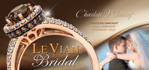 LeVian gives you many nontraditional options with colored diamonds to celebrate your engagement.