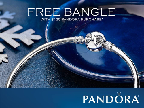 Bangles from Pandora are the most popular.