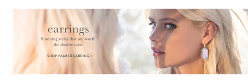 Ben David Jewelers carries the earrings designed by Kendra Scott.