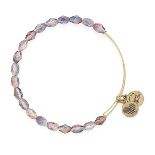 Part of the Retro Glam Collection is the Tranquil Pink bangle.